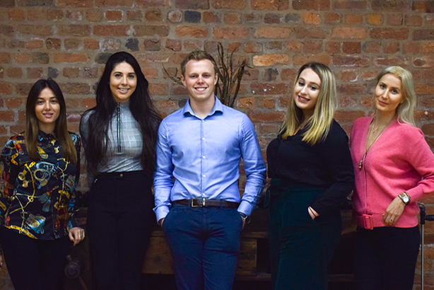 Roland Dransfield recruits: Alicia Verrando, Maria Murphy, Sam Dyson, Martha Moore and Aino Raittinen