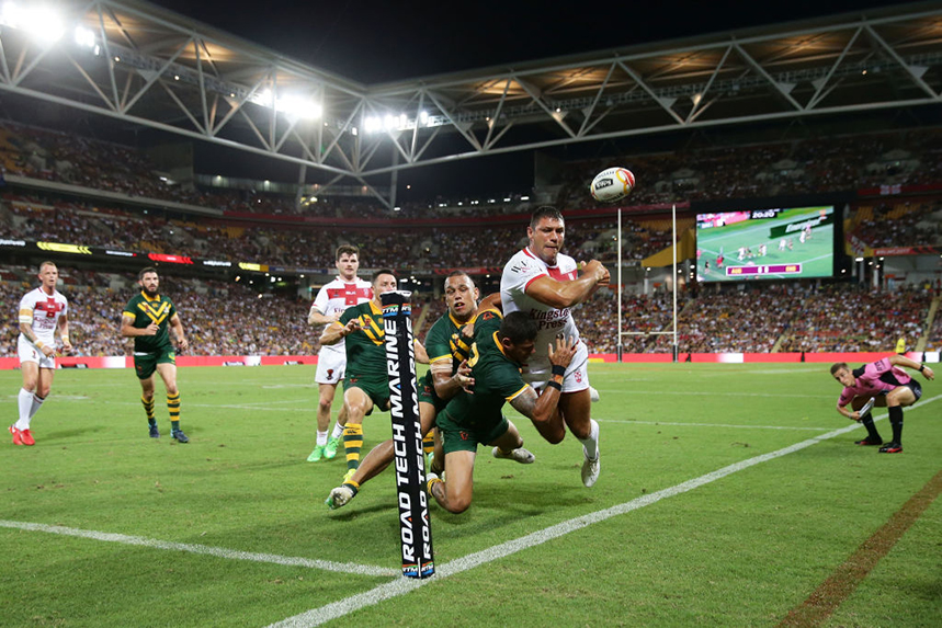 Can host nation England exact revenge on the Kangaroos to win its first Rugby League World Cup? (Photos: Getty Images)