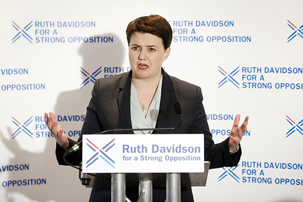 Ruth Davidson: Gordon Hector will head up the Scots Conservative leader's research team