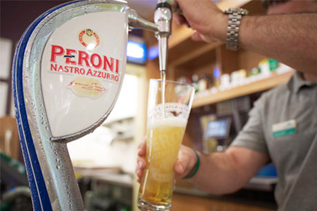 Regulatory issues: SABMiller owns Peroni