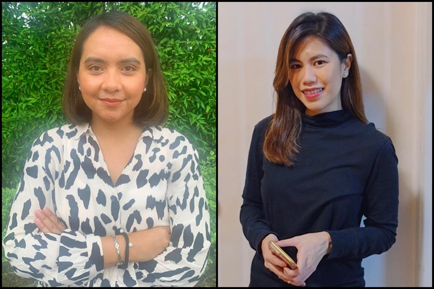 From left: Farah Zuber & Epifannie Gonzales