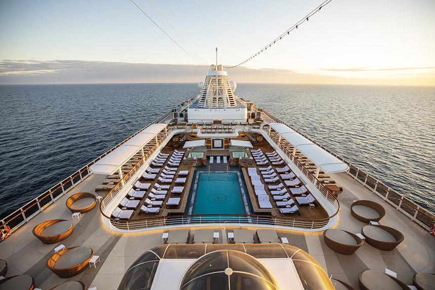 Regent Seven Seas Cruises specialise in luxury offerings