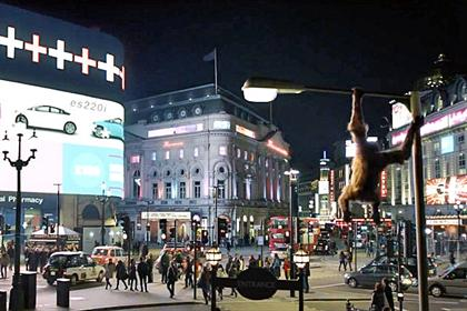 SSE: the power company's ad features a CGI orangutan in Picadilly Circus