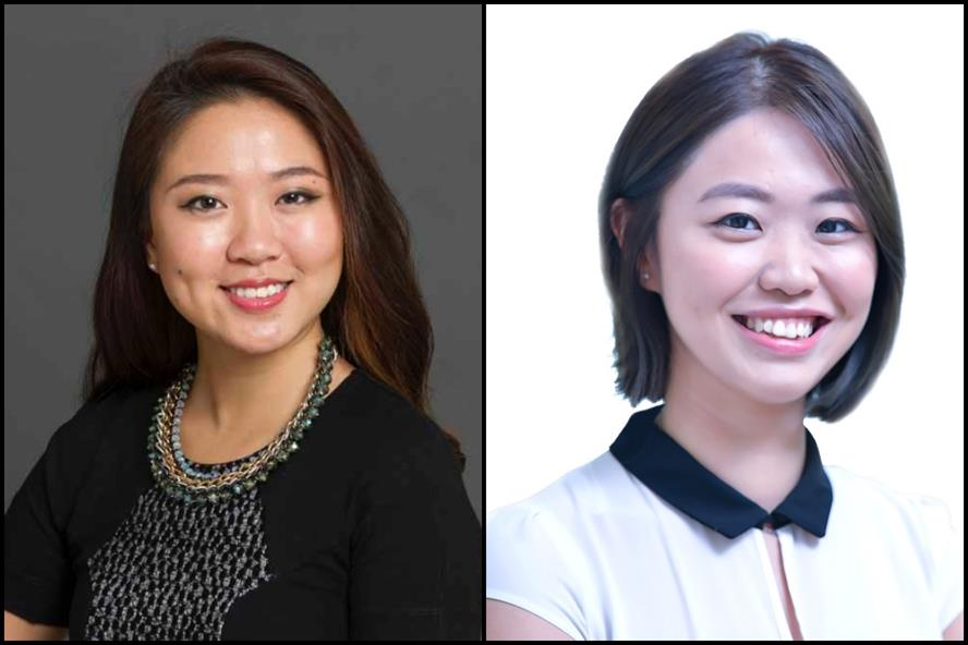 From left: Emily Siu & Lisa Fong, Sandpiper Communications