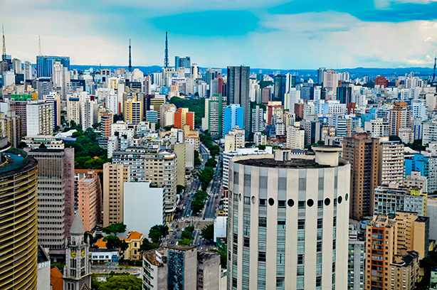 Sao Paolo is the business capital of Brazil, the eighth-largest economy in the world.