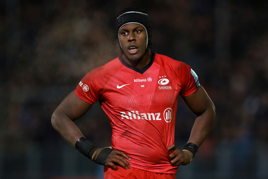 England star Maro Itoje is one of the players cited in Saracens' salary cap breach. Can the soon-to-be relegated club hold on to him? (All photos ©Getty Images)
