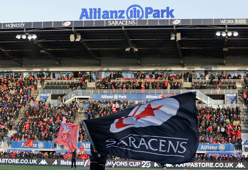 Saracens has been dealt a blow by losing major sponsor Allianz (Photos: GettyImages)