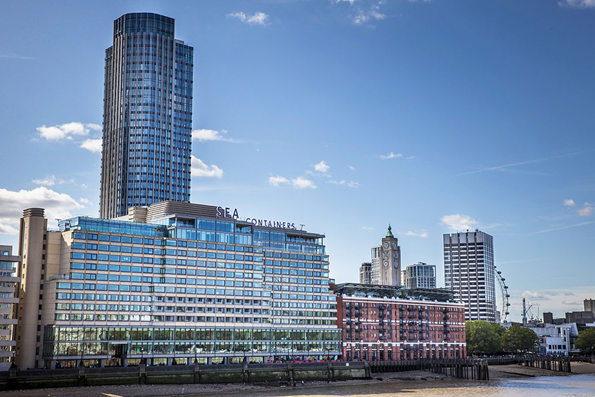 WPP: global HQ is at London's Sea Containers House
