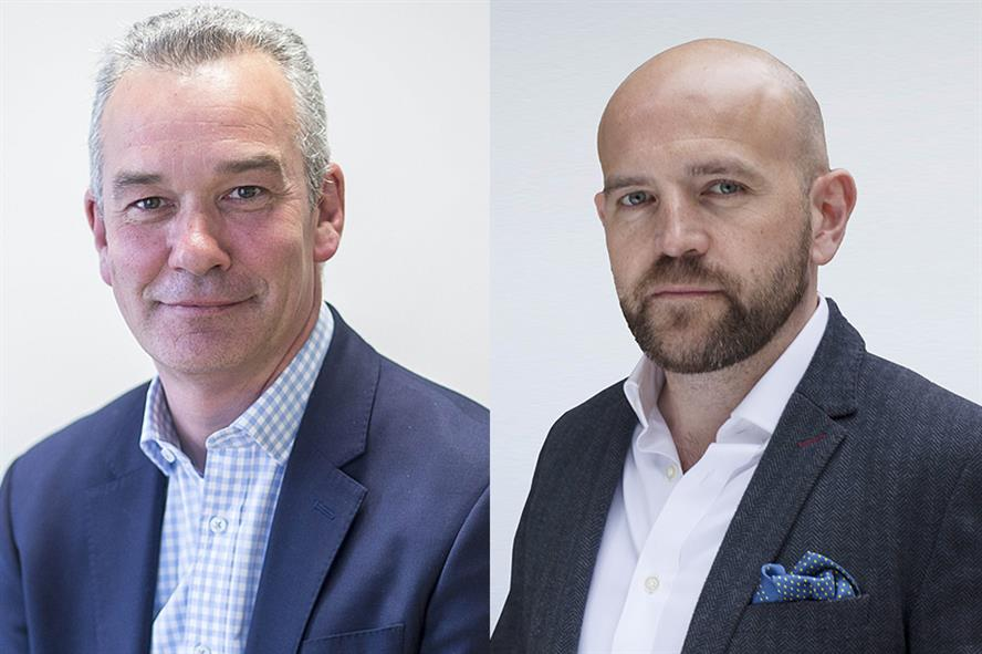 Simon Whale (left) and Simon Maule (right) jointly run Luther Pendragon, following its merger with Linstock Communications