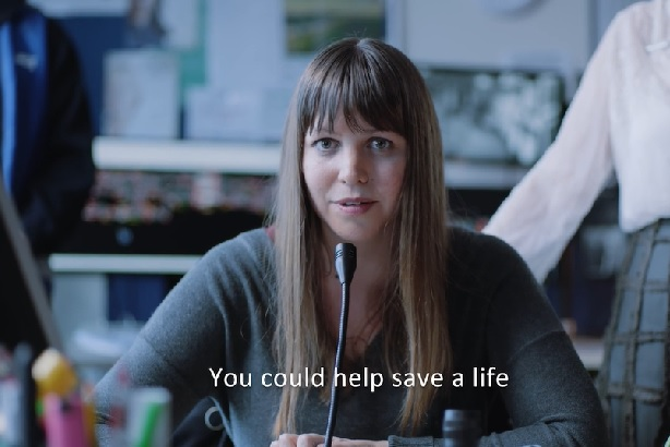 Rail campaign: Aims to encourage passengers to intervene to help prevent suicides