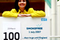 Smokefree England: press calls and photo shoots promoted key 'countdown' dates