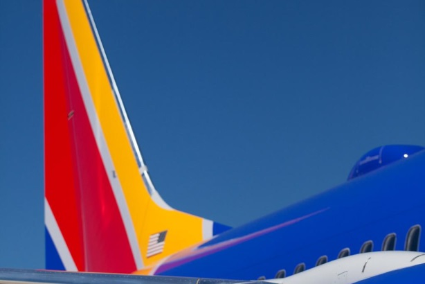 Southwest Airlines was among the brands piggybacking on Kim Kardashian's much-talked about Paper magazine cover.