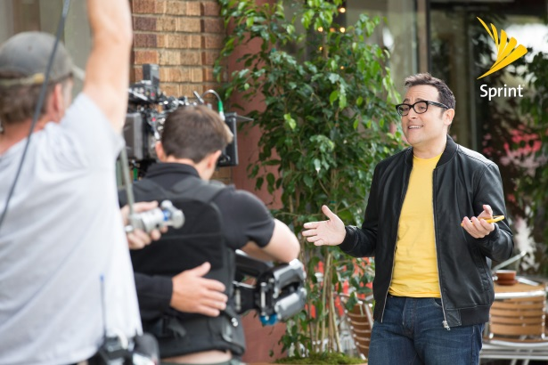 Sprint enticed former Verizon spokesman Paul Marcarelli to switch brands and lead its ad campaigns.