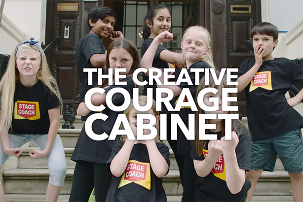 The Stagecoach Performing Arts 'junior cabinet'