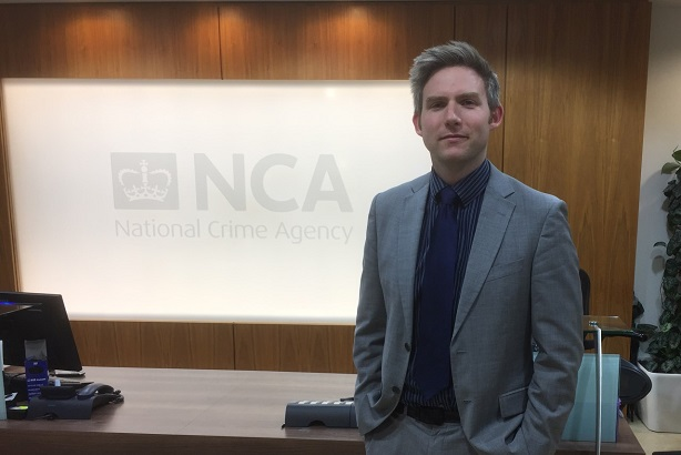 Steve Ivie has an expanded internal comms role at the National Crime Agency