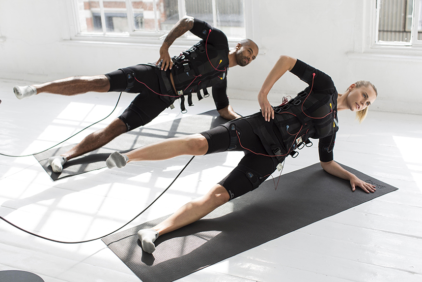 Surge uses EMS technology for a 'quick and efficient' workout