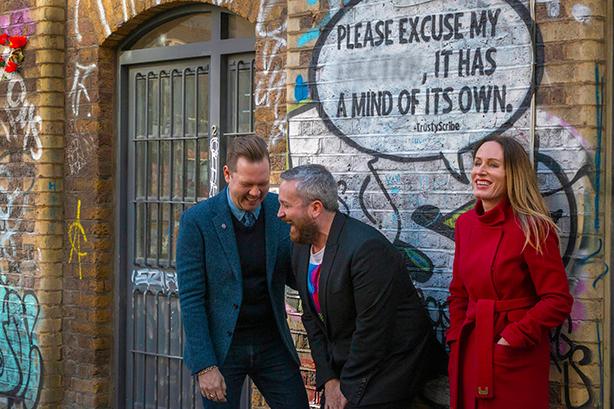 Jo Grierson, right, joins Talker Tailor Trouble Maker as a partner