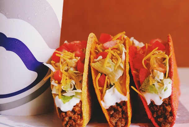 Photo from Taco Bell's Instagram account