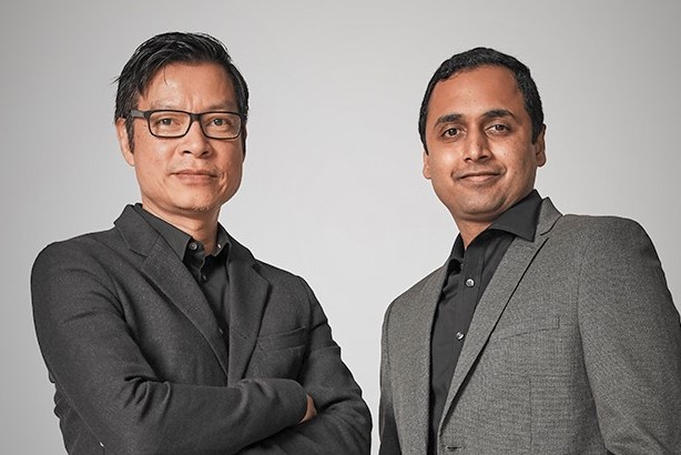 Tan Kien Eng (left) and Umesh Nair