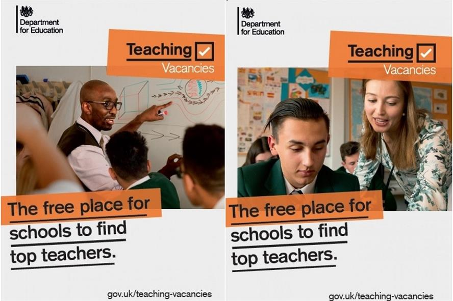 DfE aims to boost its Teaching Vacancies jobs site with PR agency Four Communications