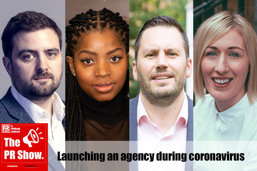 New agency bosses (L-R): Mike Robb, Kamiqua Pearce, Darryl Sparey and Gemma Moroney