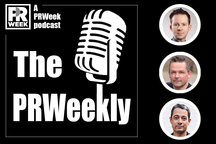 Top to bottom: John Harrington, James Herring and Chris McCafferty join The PRWeekly.