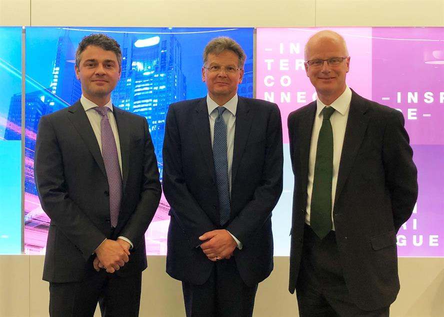 New team (left to right): Lawrence Dean, Tim Trotter and Tim Linacre
