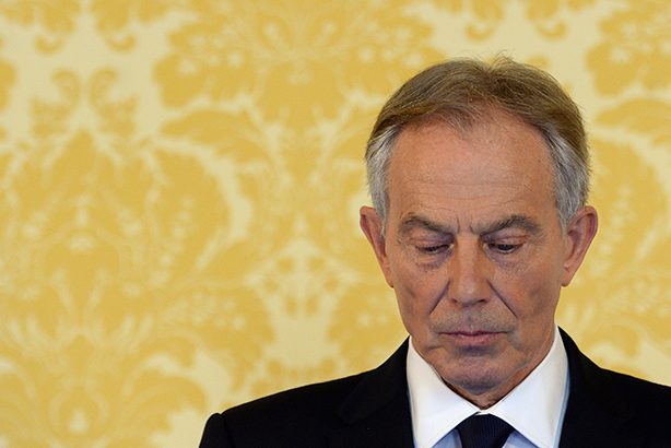 Tony Blair, PM at the time of the 2003 war with Iraq, responds to the Chilcot report (pic credit: Stefan Rousseau - WPA Pool/Getty Images)