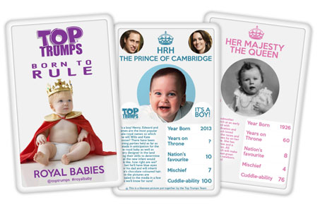 Royal flush: Top Trumps stunt (Credit: Top Trumps)