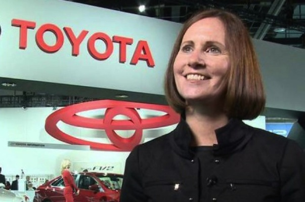 Julie Hamp resigned from Toyota on July 1