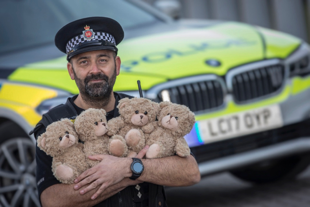 Greater Manchester Police: The traffic team will carry 'trauma teddies' from mid-April