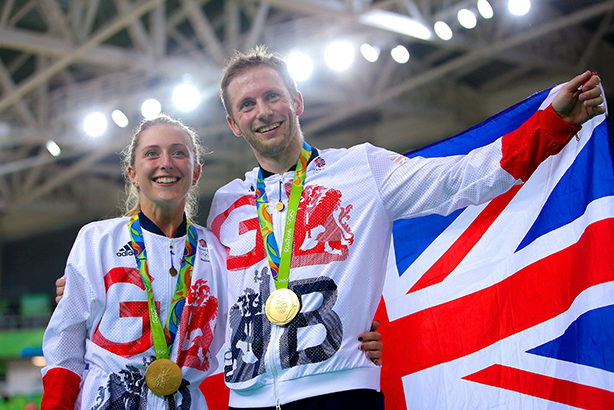 Which of cycling's new power couple will shine brightest off the track? (©SWpix.com/REX/Shutterstock)