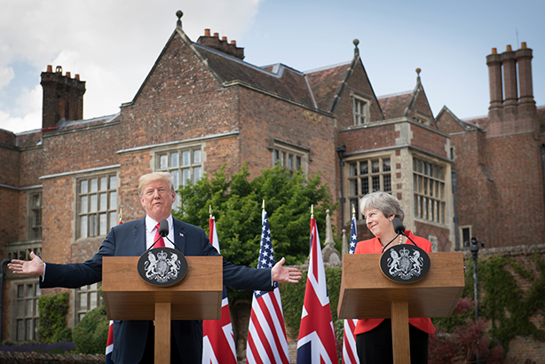 Like him or not, Trump's press conference with Theresa May was a media masterclass, argues Adam Mack (pic credit: Stefan Rousseau-WPA Pool/Getty Images)