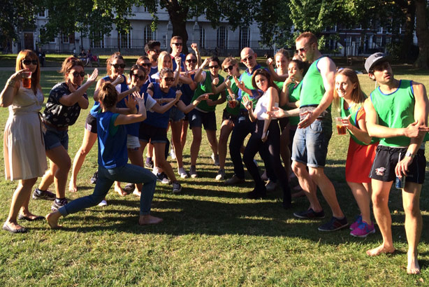 Sports day: Can lead to feelings of competitiveness