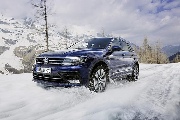 VW's Tiguan model (image via www.volkswagen-media-services.com)