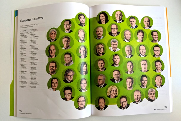 Only five of marketing services network WPP's 44 company leaders are women.