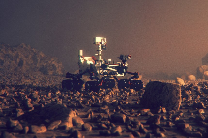 NASA's Mars robot Curiosity uses Wind River technology