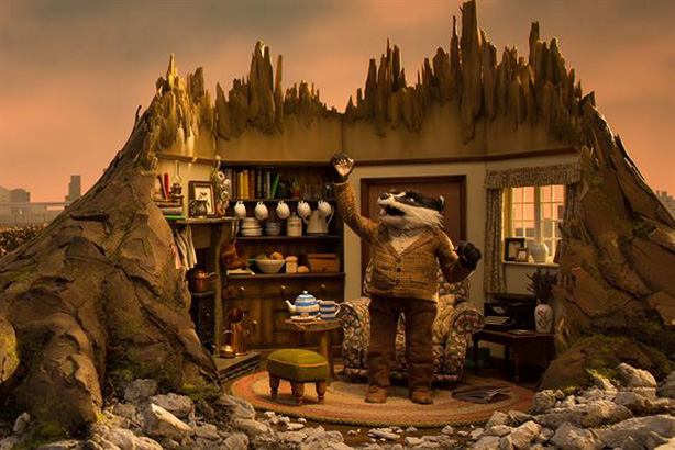 Badger's home is destroyed in The Wildlife Trusts' new campaign