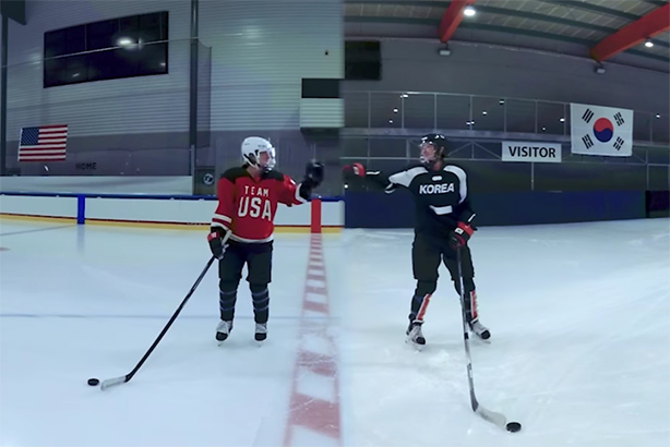 The Experience the Moment campaign struck gold at Pyeongchang