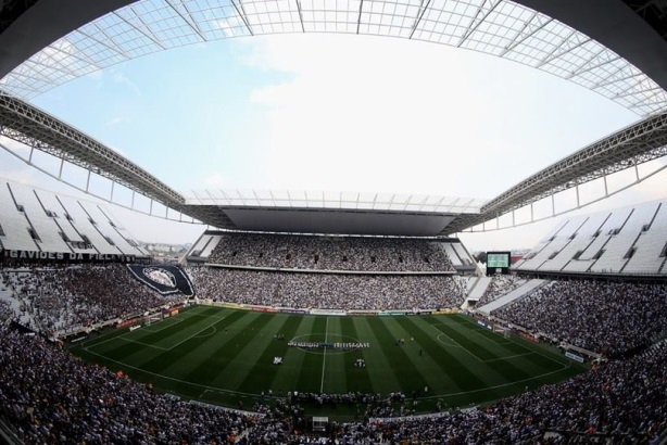 The World Cup arena in São Paulo