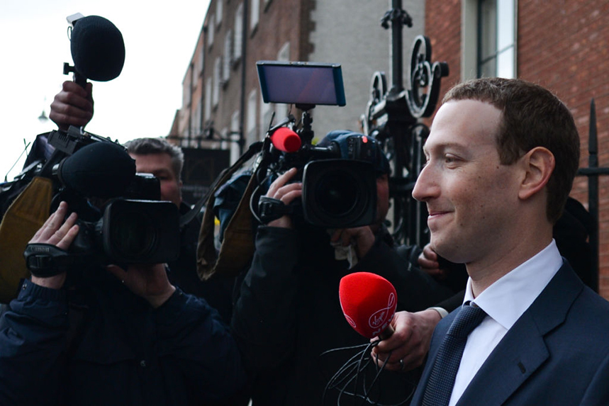 Mark Zuckerberg reportedly had his armpits blow-dried ahead of big speeches