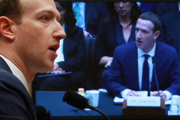 Facebook's CEO cut an impressive figure in two five-hour stints in front of Congress this week.