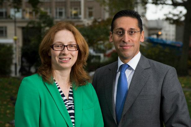 Acuitas' founders: Seewoosurrun (l) and Nayyar