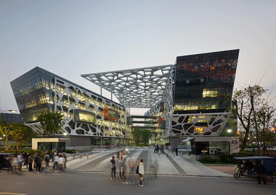 Alibaba's headquarters