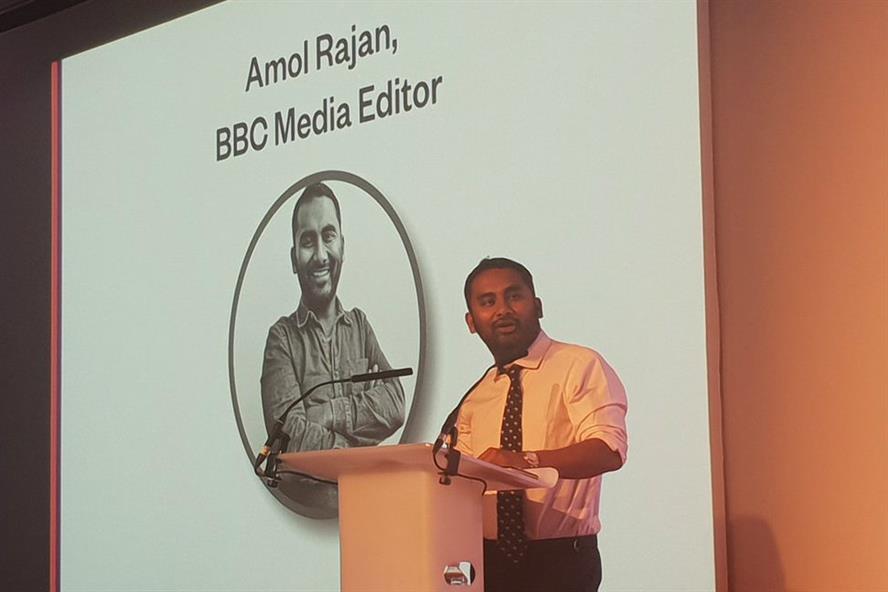 Amol Rajan: 'We've lost control of public narratives'