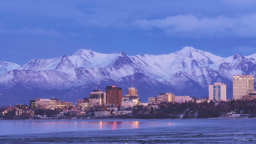 Anchorage, Alaska. (Photo credit: Getty Images).