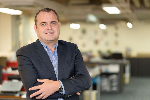 Andrew Laxton, EVP and managing director for Europe and Asia at Racepoint Global