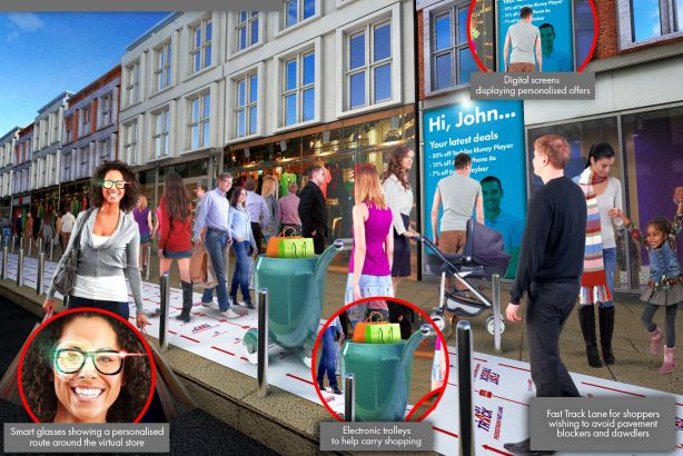 Argos: The high street of the future