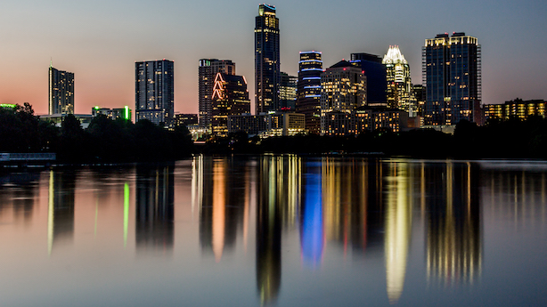 Austin, Texas. (Image via Wikimedia Commons, by User: Argash, CC BY-SA 3.0, https://commons.wikimedia.org/w/index.php?curid=34882567)