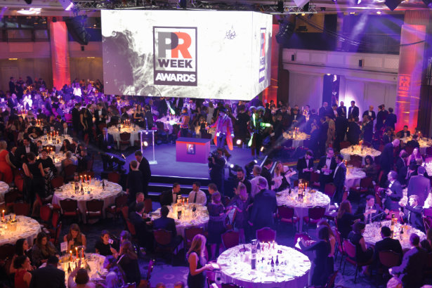 PRWeek Awards: The 2015 event in full swing